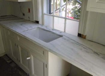 Marble Sink and Kitchen Counter
