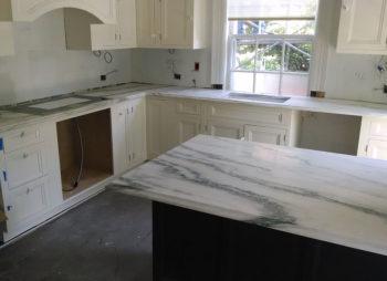 Elegant Marble Kitchen