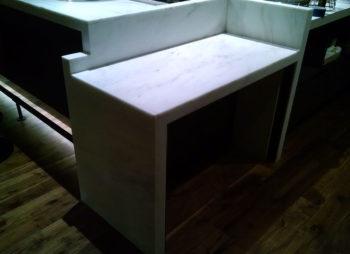 Custom Marble bar shelf
