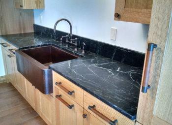 Custom Granite Counter and Sink