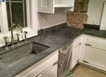 Custom Countertops with Sink